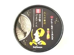 小島屋乳業製菓 謹製 コク旨ごまアイス 黒 1個