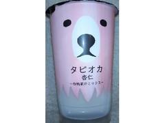 トーヨービバレッジ タピオカ杏仁 白桃果汁ミックス カップ210g