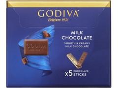ゴディバ ミルクチョコレート 箱5本