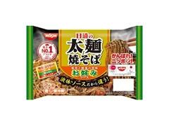 日清食品チルド 日清の太麺焼そば お好みソース 袋344g