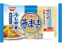 日清食品チルド 日清のそのまんま麺 冷し中華 醤油だれ 袋400g
