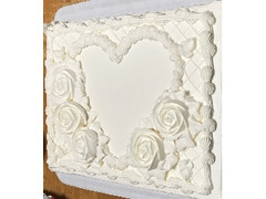 コストコ ハーフシートホワイトケーキ 3719g