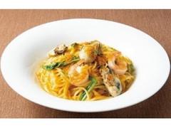 デニーズ からすみ香る牡蠣と海老のスパゲッティ