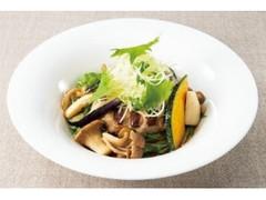 デニーズ 香味野菜ときのこの生姜醤油 ハンバーグ
