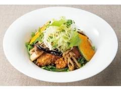 デニーズ 香味野菜ときのこの生姜醤油 鶏の唐揚げ