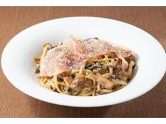 デニーズ 3種きのこと生ハムのスパゲッティ 山形県産舟形マッシュルームソース