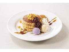 デニーズ 紫芋のパンケーキ