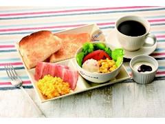 カフェ・ド・クリエ モーニングプレート ベーコン&スクランブルエッグ