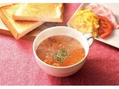 カフェ・ド・クリエ あったかモーニングプレート スクランブルエッグとオニオンスープ
