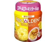 モンデリーズ リカルデント フルーツミントアソート パイナップル&トロピカルフルーツ ボトル140g