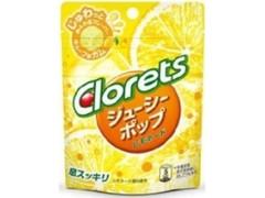 モンデリーズ クロレッツ ジューシーポップ レモネード 袋9粒