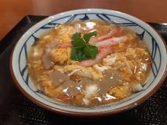 丸亀製麺 満福 かに玉あんかけ