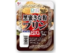 こんにゃくパーク 黒蜜きな粉プリン BIG カップ280g