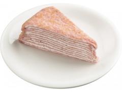 スシロー 苺ミルクレープ