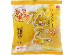 IAフーズ 日本の果実デザート こんにゃくゼリー 柚子 袋24g×6