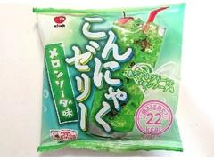 アイエー・フーズ こんにゃくゼリー メロンソーダ味 23g×6個