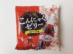 アイエー・フーズ こんにゃくゼリーコーラ味 袋23g×6
