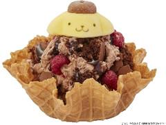 コールド・ストーン ポムポムプリンのチョコレートヤミーベリー帽