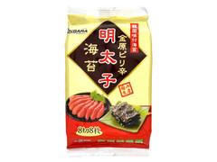 金原海苔店 明太子海苔 袋8枚