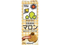 キッコーマン 豆乳飲料 マロン