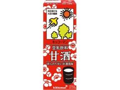 キッコーマン 豆乳飲料 甘酒 パック200ml