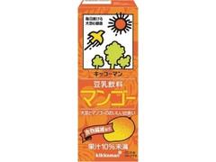キッコーマン 豆乳飲料 マンゴー パック200ml