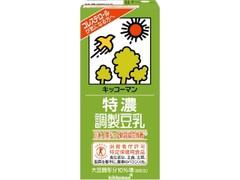 キッコーマン 特濃調製豆乳 パック1000ml