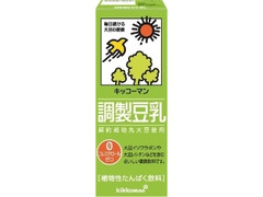 キッコーマン 調製豆乳 パック200ml