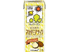 キッコーマン 豆乳飲料 マカダミアナッツ パック200ml