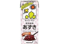 キッコーマン 豆乳飲料 あずき パック200ml