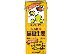 キッコーマン 豆乳飲料 黒糖生姜 パック200ml