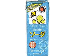 キッコーマン 豆乳飲料 ソーダ パック200ml