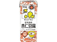 キッコーマン 豆乳飲料 杏仁豆腐 パック200ml