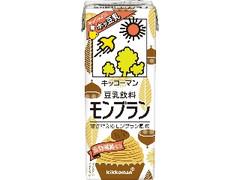 キッコーマン 豆乳飲料 モンブラン