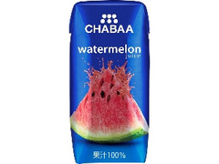 HARUNA CHABAA ウォーターメロンジュース パック180ml