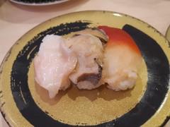 はま寿司 貝三種盛り