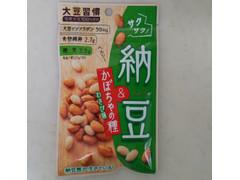 MD 大豆習慣 サクサク納豆&かぼちゃの種 わさび味