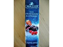 CAVALIER ダークチョコレートストロベリー&ラズベリー 袋40g