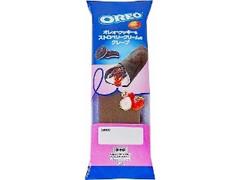 オランジェ オレオ クッキー&ストロベリークリームのクレープ 袋1個