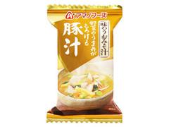 アマノフーズ 味わうおみそ汁 野菜のうまみがとろける豚汁 袋15g