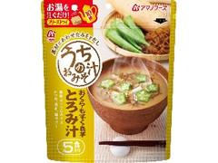 アマノフーズ うちのおみそ汁 とろみ汁 袋5食