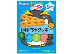 アサヒ 赤ちゃんのおやつ+Ca カルシウム かぼちゃクッキー 箱58g