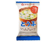 アサヒ いつものおみそ汁 とうふ 袋10g