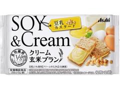 アサヒ クリーム玄米ブラン 豆乳カスタード