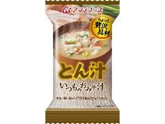 アマノフーズ いつものおみそ汁 とん汁 袋12.5g