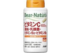 アサヒ ディアナチュラ ビタミンC・亜鉛・乳酸菌・ビタミンB2・ビタミンB6 ボトル120粒