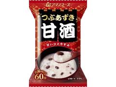 アマノフーズ つぶあずき甘酒 袋25g