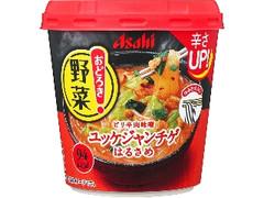 アサヒ おどろき野菜 ユッケジャンチゲ カップ27.2g