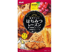 アサヒ バランスアップ 玄米ブラン はちみつレーズン 箱3枚×5