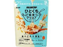 アサヒ バランスアップ ひとくち玄米クリスプ プレーン 袋180g